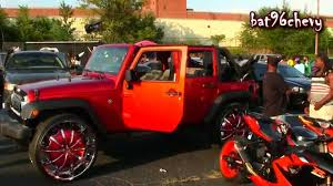jeep wheels white candy red jeep wrangler unlimited x on 30