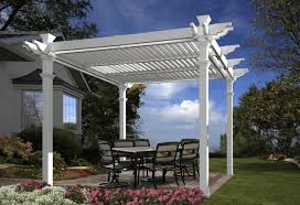 White Vinyl Pergola Kits by Pergola Design Ideas White Vinyl Pergola Astonishing Construction
