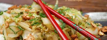 chinois à la cuisine wok de chou chinois et noix de cajou la cuisine de corinne