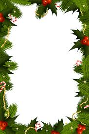 Christmas Tree Picture Frames Christmas Frame Border Year