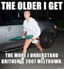 Britney Meme - can you relate with this meme do you ever feel like 2007 britney