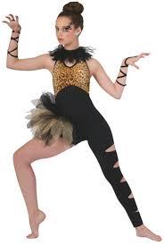 Jazz Dancer Halloween Costume Didnt Cheetah Print Dance