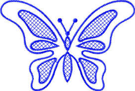 embroidery designs butterfly design 648 embroidery