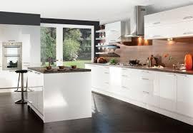 idee de couleur de cuisine cuisine blanche laquée 99 exemples modernes et élégants