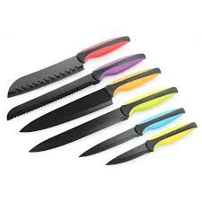 professional kitchen knives set professional kitchen knife set with non stick coating