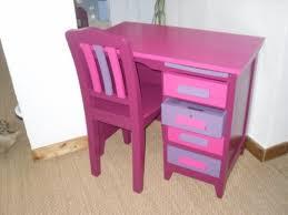 bureau violet bureau et chaise prune fushia violet relooking de meubles et