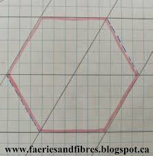 faeries and fibres tutorial draft your own diamonds hexagons