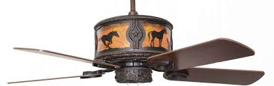 wagon wheel ceiling fan light amazing horses western lighted ceiling fan 52 free shipping wild