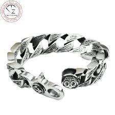 solid sterling silver mens bracelet images Pure silver bracelets for men jpg