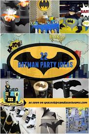 batman party ideas 22 batman birthday party ideas spaceships and laser beams