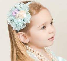 decorative headbands baby girl headbands lace decorative 12 colors fold flowers