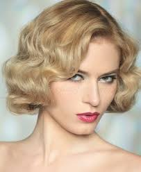 old fashioned short hair short wavy hairstyles retro waves bob hairstyle trendy