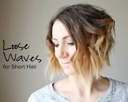 short loose wave hairstyle big loose curls short hair best short hair styles
