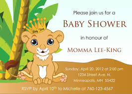 baby lion king baby shower baby lion king baby shower invitation digital image