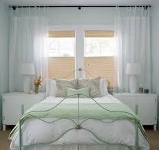 white shabby chic window treatments shabby chic window