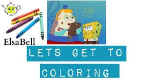 spongebob squarepants coloring pages sponge bob mrs puff