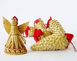 28 best lithuanian straw christmas ornaments images on pinterest