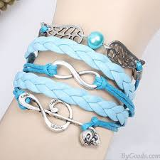 fashion infinity bracelet images Sweet music note angel wing infinity bracelet fashion bracelets jpg