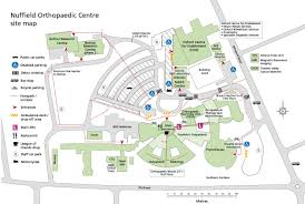 Osu Parking Map Nuffield Orthopaedic Centre Oxford University Hospitals
