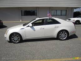 cadillac cts 4 2008 white tri coat 2008 cadillac cts 4 awd sedan exterior