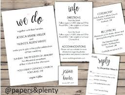 ceremony cards for weddings ideas hotel inserts for wedding invitations or wedding invitation