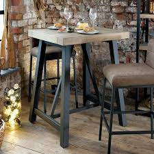Industrial Bar Table Industrial Bar Table Carnegie From Big