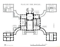 Georgian Floor Plan by Historic Georgian House Plans House Plan