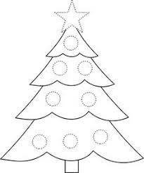 christmas tree free coloring pages kids printable