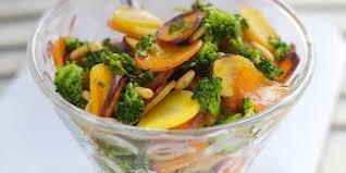 cuisiner les brocolis salade aux carottes et brocolis facile et pas cher recette sur