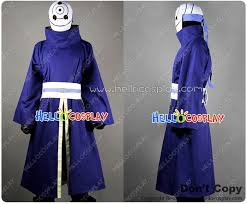 Naruto Halloween Costume Naruto Cosplay Obito Uchiha Madara Costume Mask