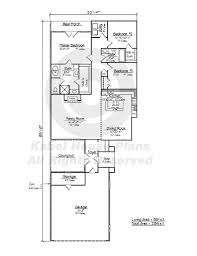 narrow lot house plans with courtyard