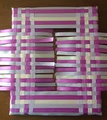 woven ribbon woven ribbon frame diy hometalk