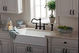 bridgeford in handle kitchen faucet with side spray touch