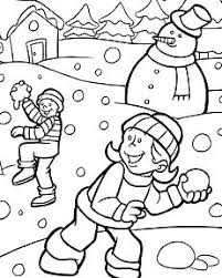 winter coloring pages coloringpagesonly