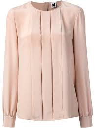 pleated blouse lyst m missoni pleated blouse in
