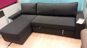 Leather Sectional Sofa Bed Furniture Manstad Sofa Bed For Cozy Living Room Idea