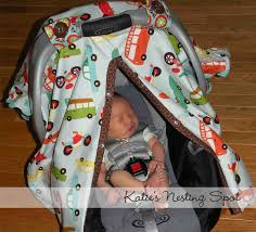 Carseat Canopy For Boy by Katie U0027s Nesting Spot Baby Gear Must Have Car Seat Canopy