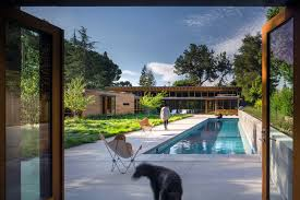 Contemporary Ranch This Contemporary California Ranch Style House Was Designed For A