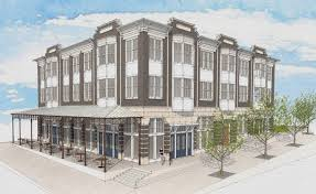 three story building fast growing rmp moving to new building in johnson johnson square
