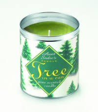 tree scented candle decore