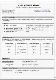Tester Resume qa tester resume performance tester resume objective software  test engineer resume sample resume user