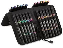 prismacolor marker set prismacolor premier ended brush tip markers and sets blick