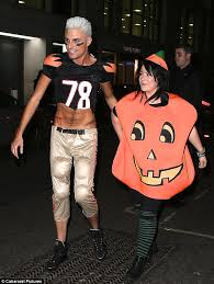 Pitchers Halloween Costumes Factor U0027s Rylan Celebrates Birthday Halloween Themed