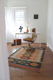 Modern Kilim Rugs Mid Century Modern Vintage Style With Kilim Rug Eclectic Home