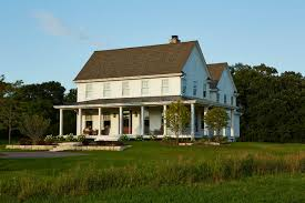 farmhouse wrap around porch american farmhouse wraparound porch houzz