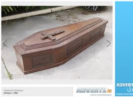 coffins for sale coffin for sale and it s only been used once the daily edge