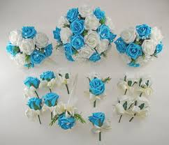wedding flowers for guests turquoise and ivory wedding flower package rosemary