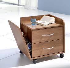bedside table on casters credo stiegelmeyer gmbh u0026 co kg