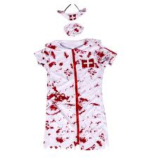 women zombie nurse halloween costume cosplay fancy