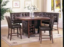 kitchen long bar table black dining set dining room table and